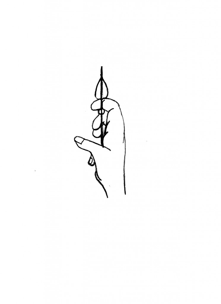 how to hook the bowstring