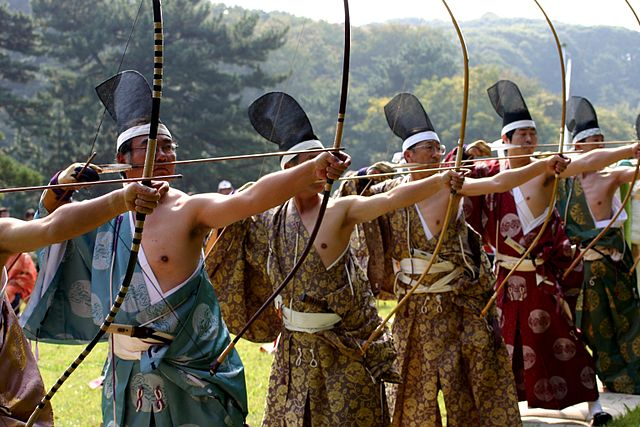 traditional kyudo