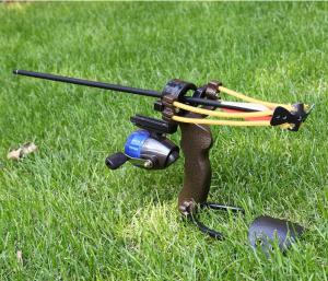 Fishing Slingbow With Arrow