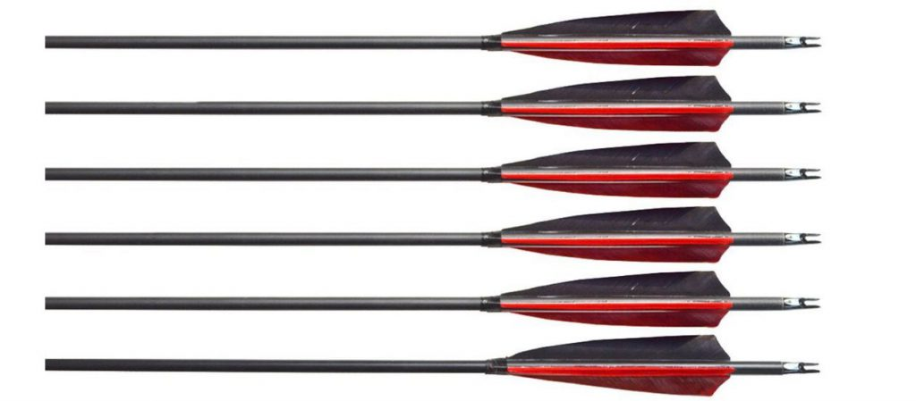 black archery 31 arrows