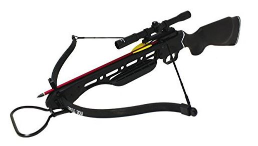 wizard crossbow black