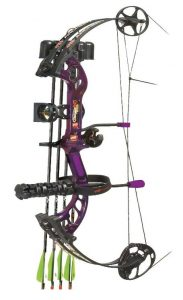 pse stinger compound bow purple