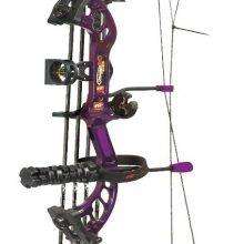 pse stinger compound bow purple