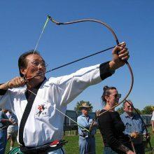 composite bow archer