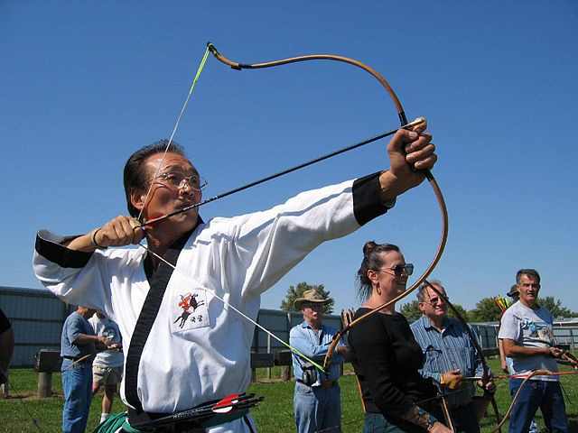 composite bow archer