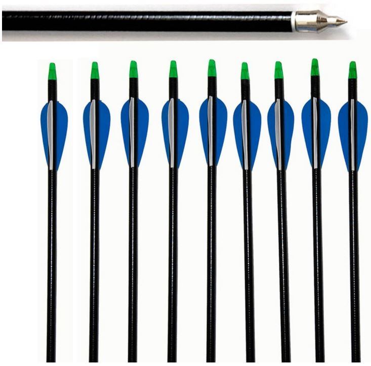 fiberglass arrows blue