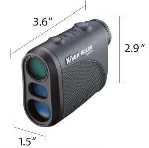 Nikon 8397 ACULON Laser Rangefinder Size