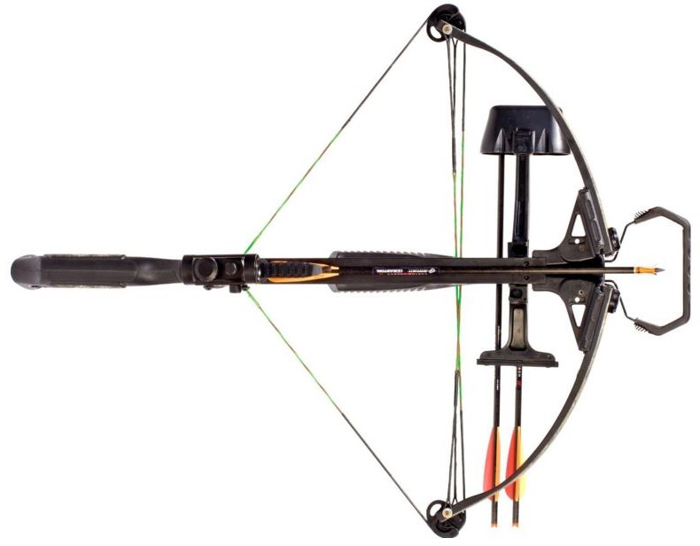 barnett jackal crossbow from above