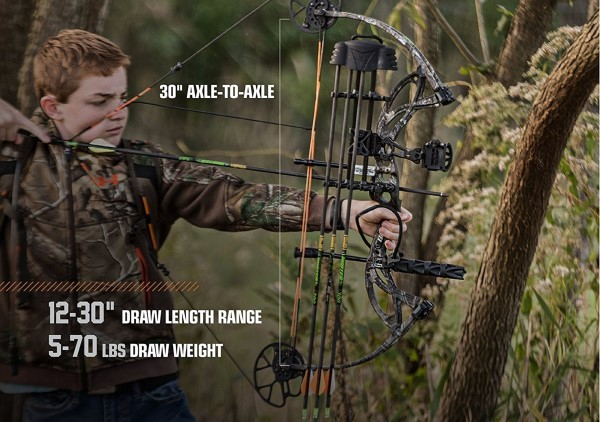 Bear Archery Cruzer Compound Bow Stats